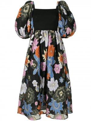 Платье Monika Stine Goya. Цвет: черный