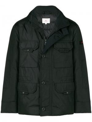Пуховая куртка Peuterey. Цвет: черный