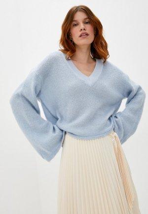 Пуловер Trussardi Jeans. Цвет: голубой