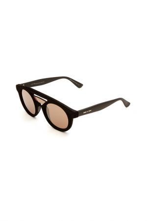 Очки солнцезащитные ITALIA INDEPENDENT. Цвет: 009 000 черный