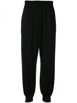 Зауженные брюки-шаровары Marc Jacobs. Цвет: черный