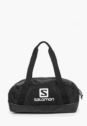 Сумка спортивная Salomon. Цвет: черный