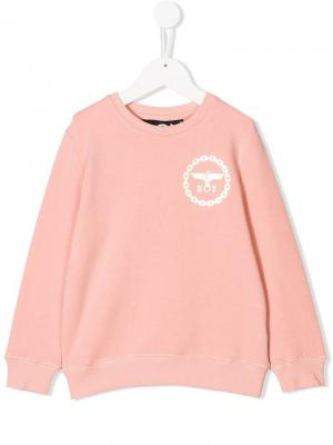 Eagle print sweatshirt Boy London Kids. Цвет: розовый