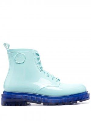 Ботинки Coturno Couture Viktor & Rolf. Цвет: синий
