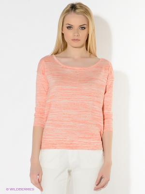 Джемпер American Outfitters. Цвет: коралловый, белый
