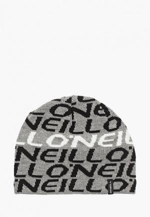 Шапка O`Neill. Цвет: серый