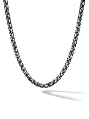 Box Chain medium necklace David Yurman. Цвет: ss