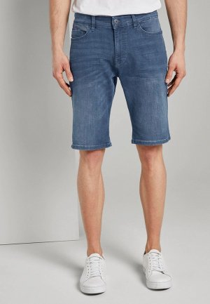 Шорты джинсовые Tom Tailor. Цвет: синий