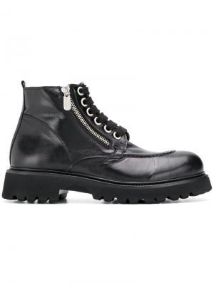 Zipped ankle boots Rocco P.. Цвет: черный