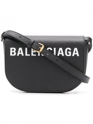 Сумка Ville XS Balenciaga. Цвет: черный