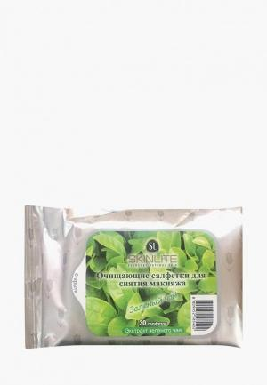 Салфетки для снятия макияжа Skinlite. Цвет: прозрачный