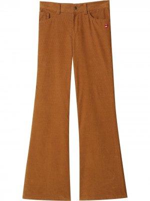 Расклешенные вельветовые брюки Marc Jacobs. Цвет: коричневый