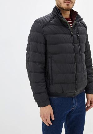 Куртка утепленная Pierre Cardin. Цвет: черный