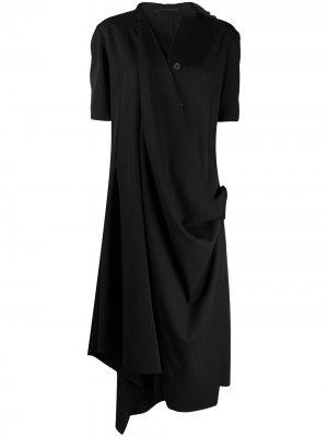 YOHJI YAMAMOTO NND07100 1 BLACK Wool. Цвет: 1 черный