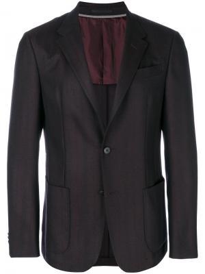 Классический пиджак Z Zegna. Цвет: красный