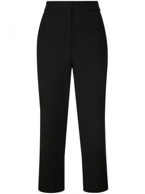 Укороченные брюки Taylor Tibi. Цвет: черный