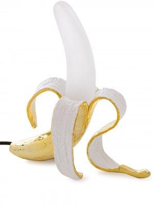 Настольная лампа Banana (с вилкой стандарта UK) Seletti. Цвет: желтый