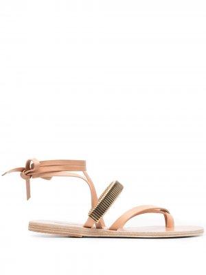 Сандалии Lafitis с ремешками Ancient Greek Sandals. Цвет: нейтральные цвета