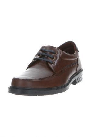 Туфли PITILLOS. Цвет: коричневый
