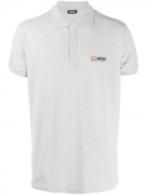 Рубашка-поло T-Weet-Div Diesel. Цвет: серый