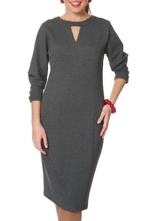 Платье Argent. Цвет: серый