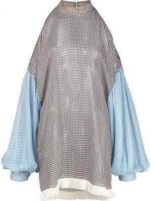 Блузка Karter с геометричным принтом Sachin & Babi. Цвет: черный