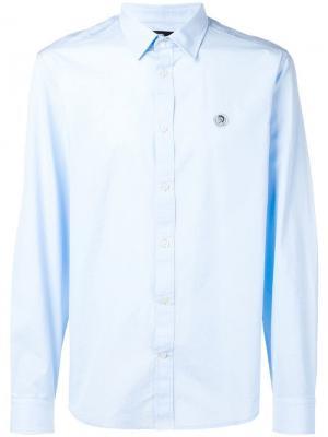 Рубашка S-Bill Diesel. Цвет: синий