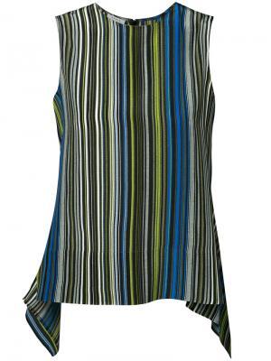Блузка в полоску Akris Punto. Цвет: синий