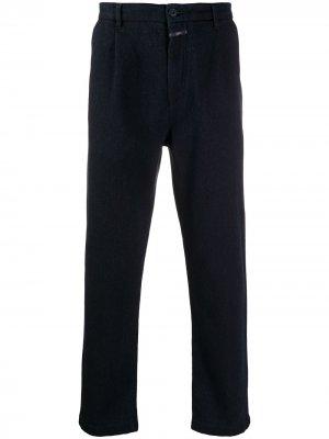 Прямые брюки чинос Closed. Цвет: синий
