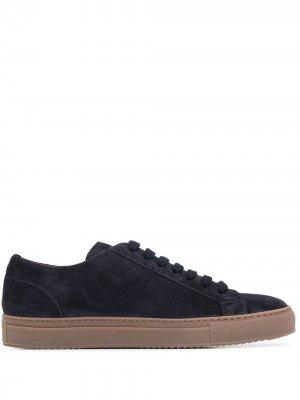 Doucals кроссовки на шнуровке Doucal's. Цвет: синий