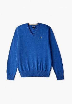 Пуловер Polo Ralph Lauren. Цвет: синий