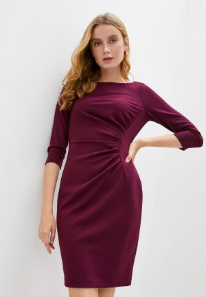 Платье DKNY. Цвет: бордовый