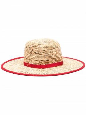 Straw sun hat Borsalino. Цвет: нейтральные цвета
