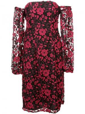 Платье Caro Zac Posen. Цвет: черный