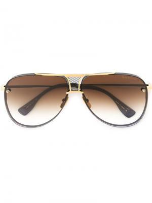 Солнцезащитные очки Decade Two Dita Eyewear. Цвет: черный