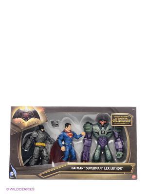 Игровой набор Бэтмен и Супермен против Лекса BATMAN VS SUPERMAN. Цвет: синий, зеленый, красный, серый