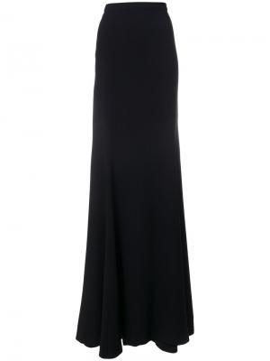 Длинная юбка Antonio Berardi. Цвет: чёрный