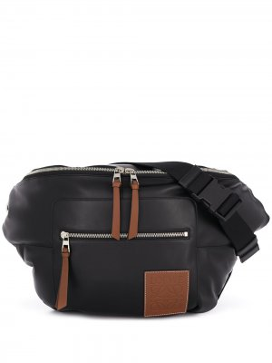 Поясная сумка XL Puffy LOEWE. Цвет: черный