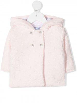 Куртка крупной вязки Tartine Et Chocolat. Цвет: розовый
