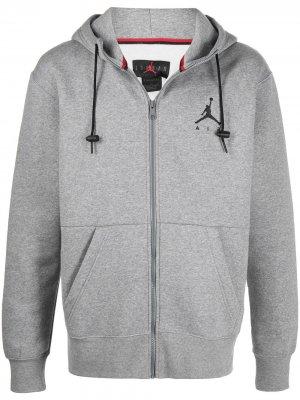 Худи Jumpman Air на молнии Jordan. Цвет: серый