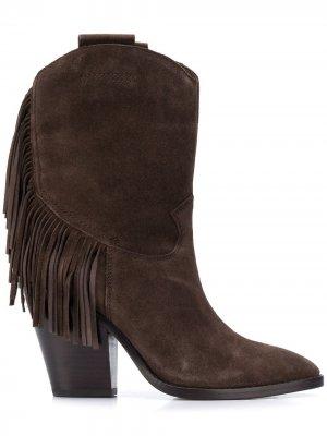 Ковбойские ботинки Emotion Ash. Цвет: коричневый