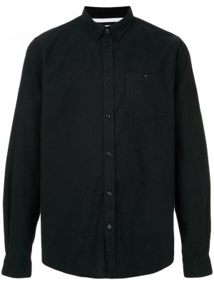 Рубашка с длинным рукавом Anton Norse Projects. Цвет: синий