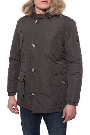 Куртка MARINA YACHTING. Цвет: grey