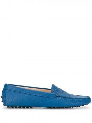 Tods мокасины Gommino Tod's. Цвет: синий