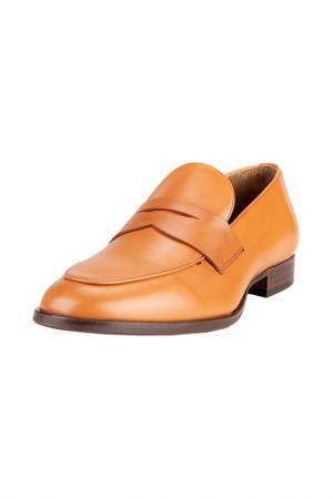 Туфли PERTINI. Цвет: светло-коричневый