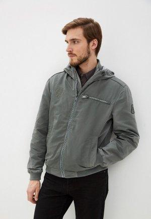 Куртка Baon. Цвет: зеленый