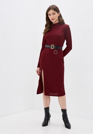 Платье Allegri. Цвет: бордовый