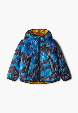 Куртка утепленная Boom. Цвет: синий