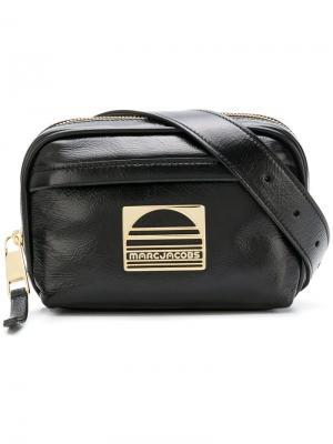 Спортивная поясная сумка с логотипом Marc Jacobs. Цвет: черный