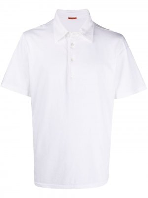 Рубашка поло из джерси Barena. Цвет: белый